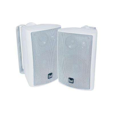 100-Watt 3-Way Indoor/Outdoor Speakers