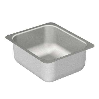 2000 Series Undermount Stainless Steel 12 in. Single Bowl Bar Sink