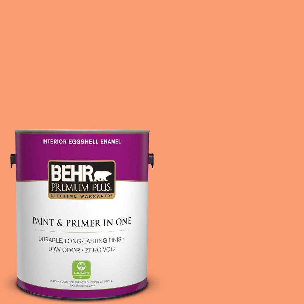 BEHR Premium Plus 1-gal. #P200-5 Burning Coals Eggshell Enamel Interior Paint