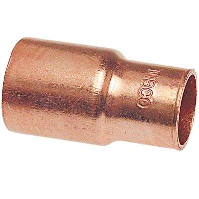 3/8 in. x 1/2 in. Copper Pressure FTG x C Fitting Reducer
