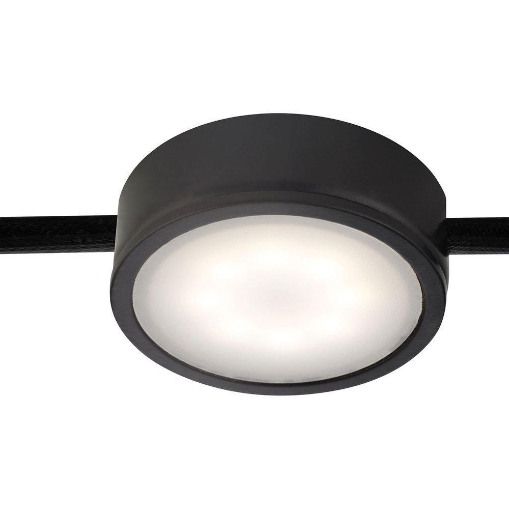 Tuxedo 1-Light LED Black Under Cabinet Light