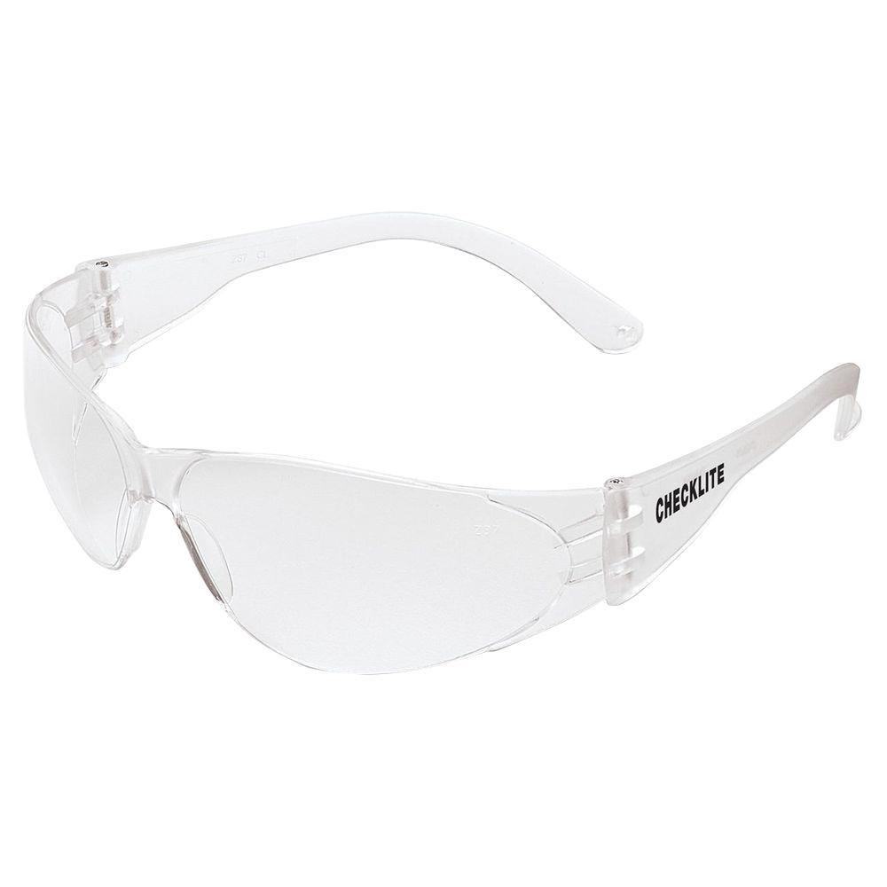 Mcr Safety Checklite Anti Fog Safety Glasses Mcscl110af The Home Depot