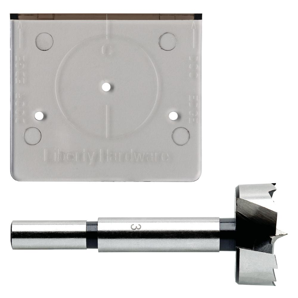 Everbilt Align Right 35 mm (1-3/8 in.) Cabinet Hinge Installation Template