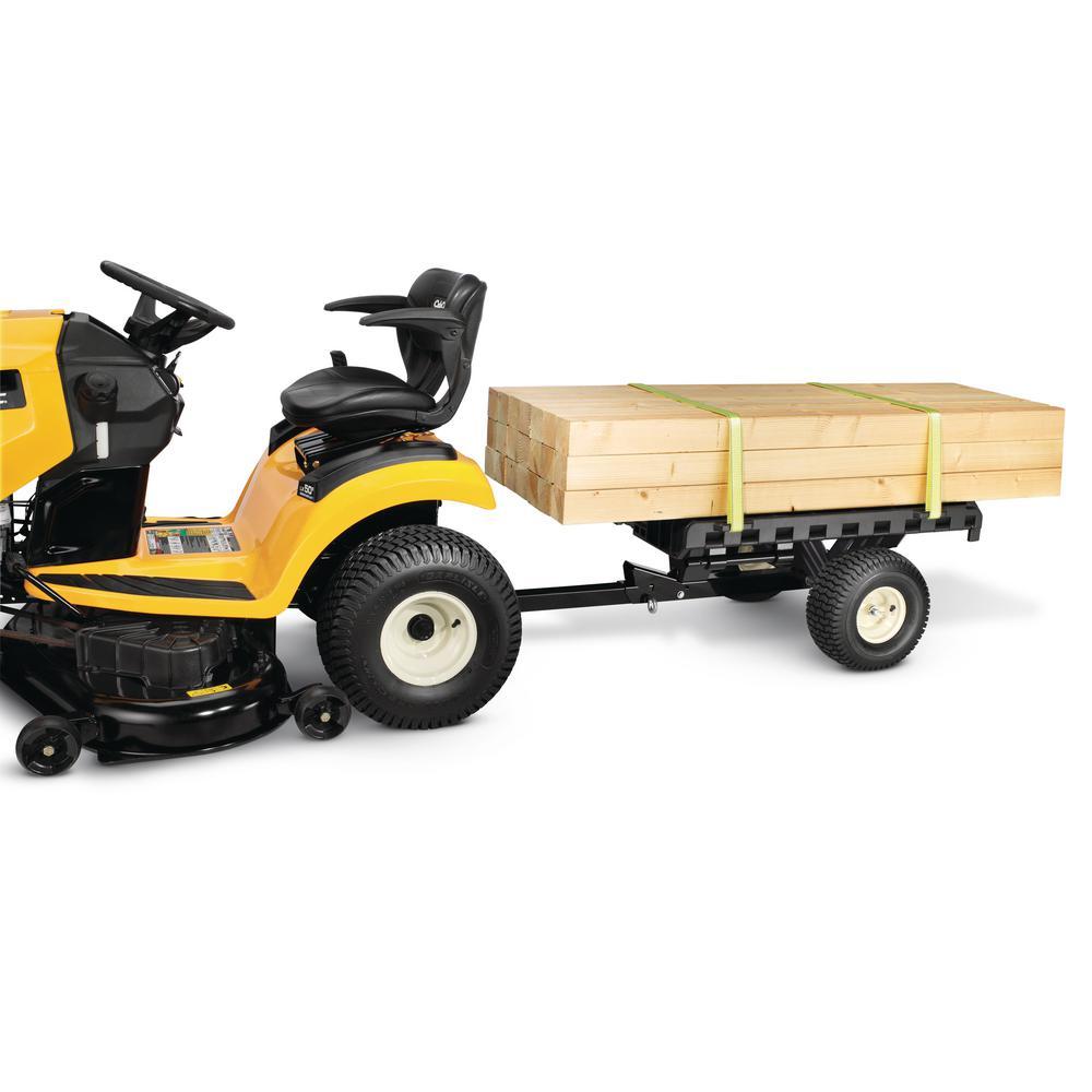 Cub Cadet Original Equipment 2 Wheel Hauler For Lawn Tractors And Zero Turn Mowers 19b40026100 The Home Depot