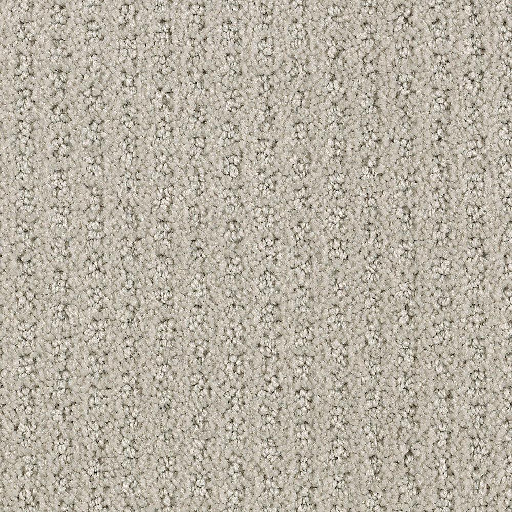Lifeproof Carpet Sample - Game Face - Color Ash Textured 8 in. x 8 in.