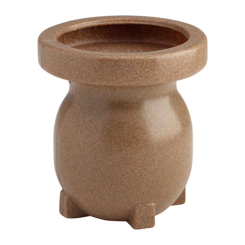 Small Decorative Planter in Sandstone