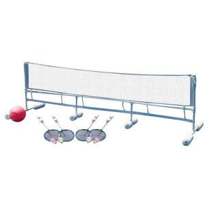 Poolmaster Floating Water Volleyball and Badminton Super Combo Pool Game by Poolmaster