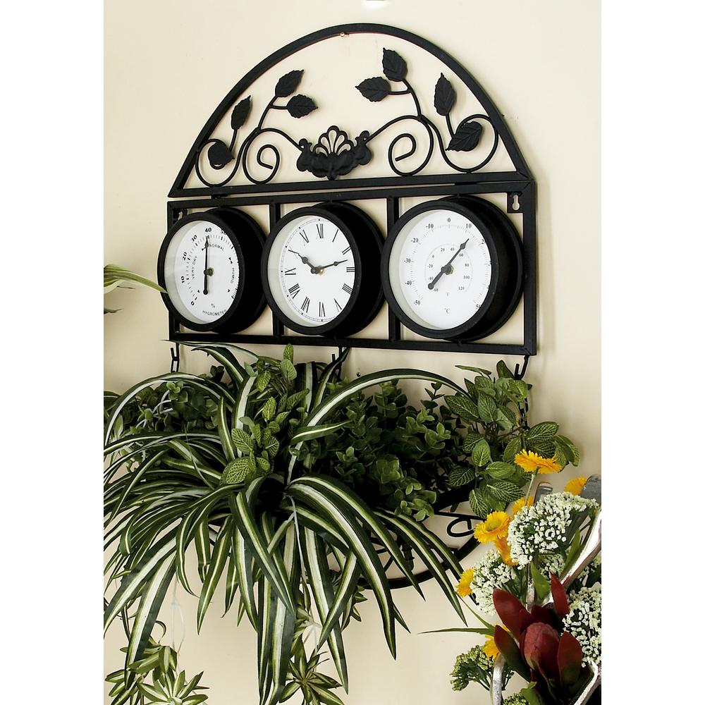 Firstime 29 In Round Majestic Hollow Wall Clock 10026
