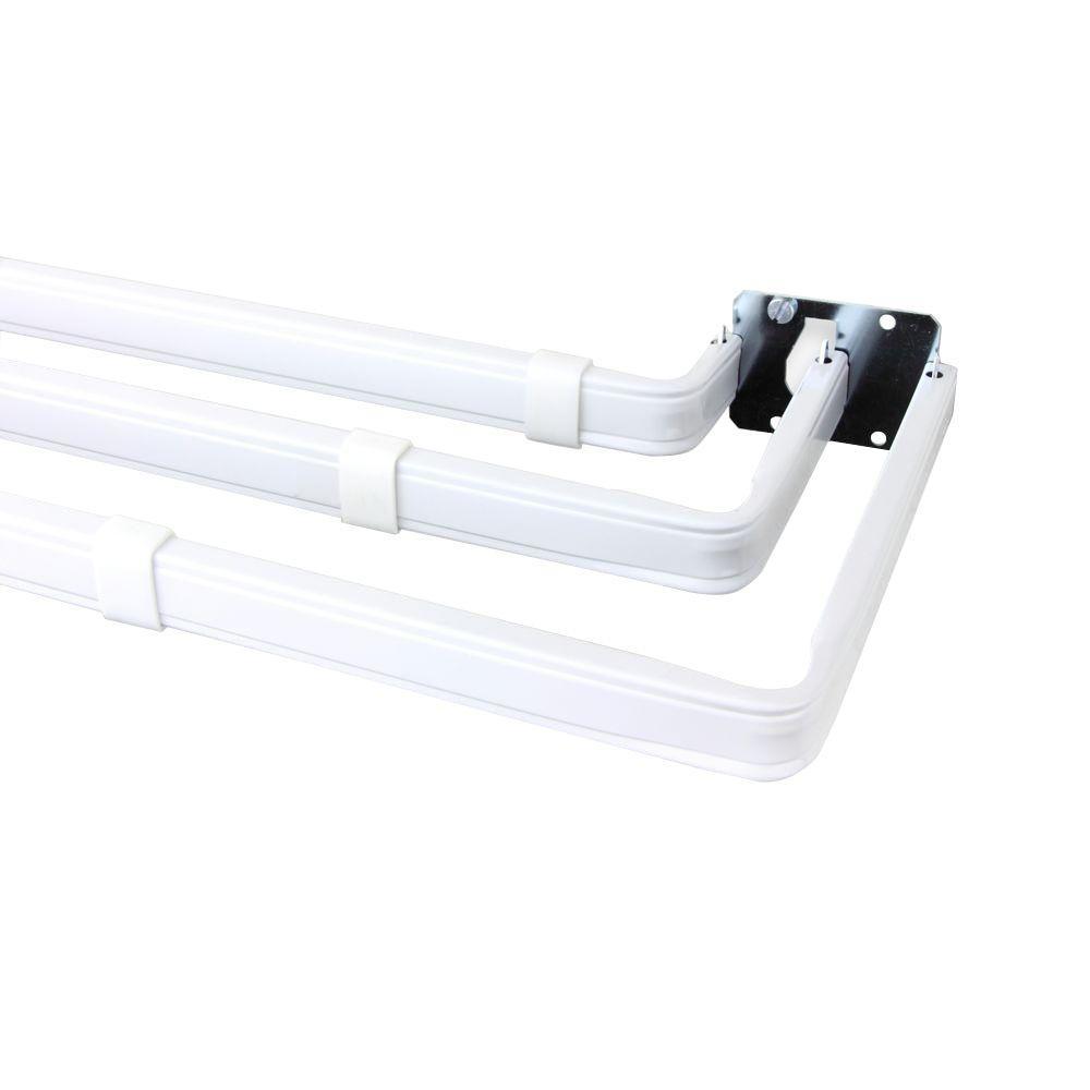 Lockseam Triple Single Curtain Rod