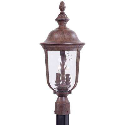 The Great Outdoors Lighting The great outdoors by minka lavery post lighting outdoor ardmore 2 light vintage outdoor rust post mount workwithnaturefo