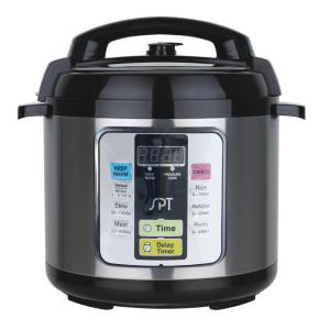 Click here to buy SPT 6.5 Qt. Pressure Cooker by SPT.
