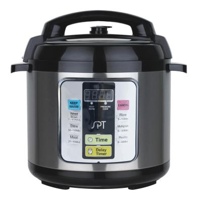 6.5 Qt. Stainless Steel Electric Pressure Cooker with Stainless Steel Insert