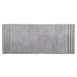 Mohawk Empress 24 inch x 60 inch Cotton Runner Bath Rug in Gray by Mohawk