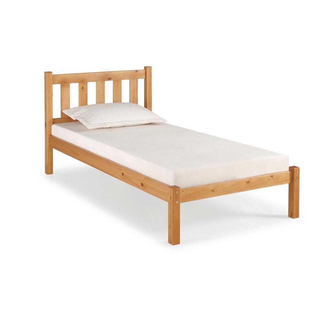 Poppy Cinnamon Twin Bed