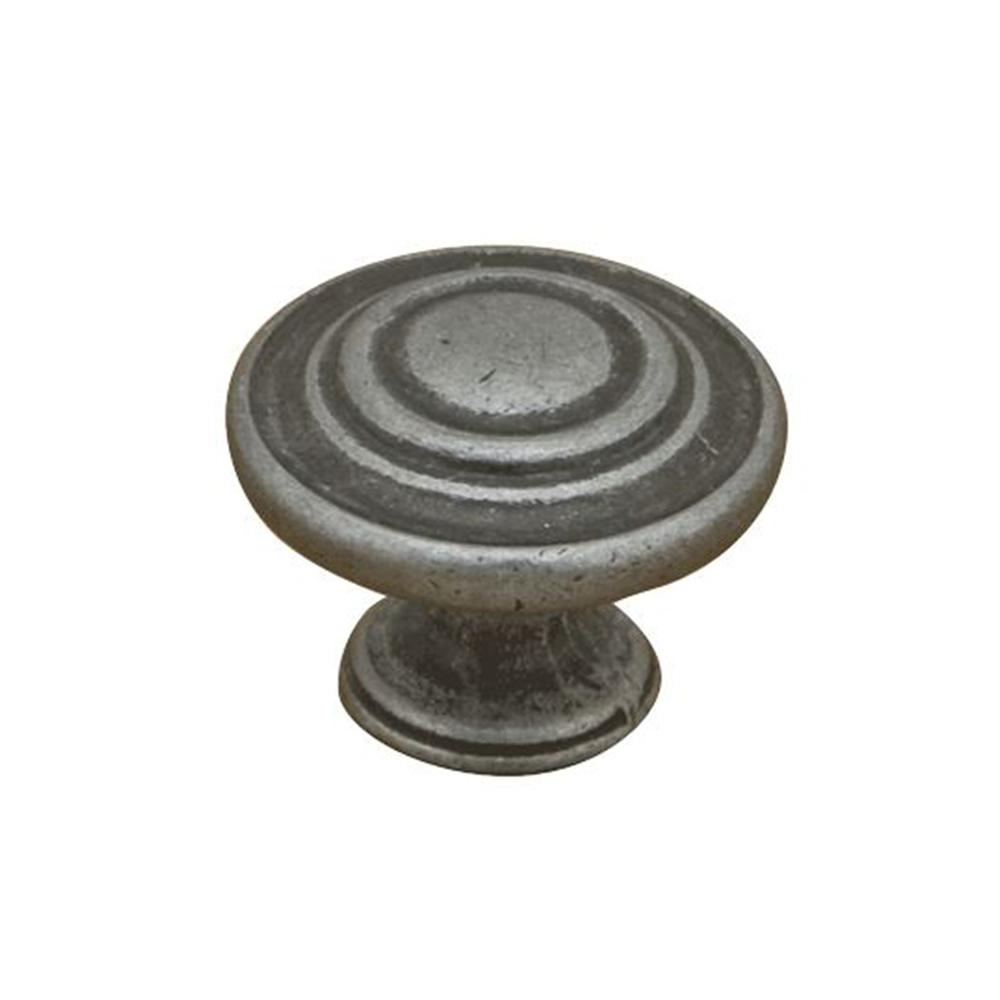 1-1/4 in. Swedish Iron Rustic Mushroom Cabinet Knob
