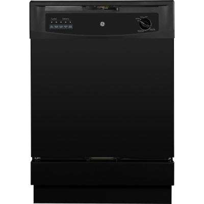 Front Control Dishwasher in Black, 62 dBA