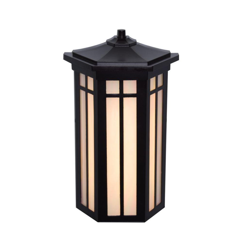 Antique Bronze Outdoor LED Pocket Wall Light
