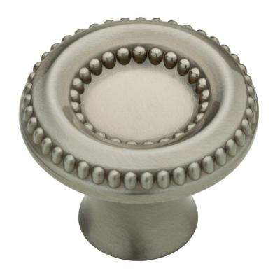 Taryn 1-3/8 in. (35mm) Satin Nickel Round Cabinet Knob