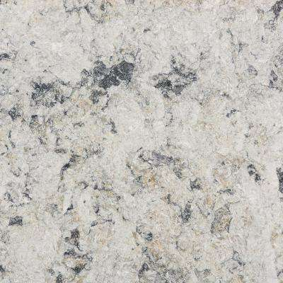 2 in. x 4 in. Quartz Countertop Sample in Urban Frost