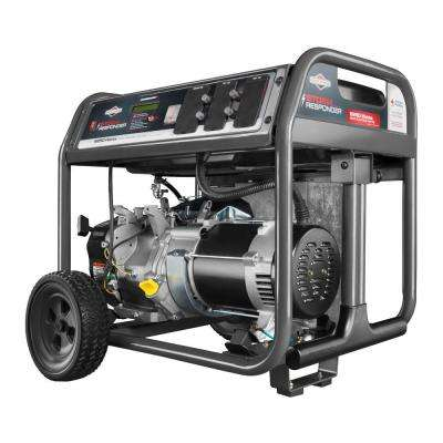 6,250-Watt Storm Responder Gasoline Powered Portable Generator