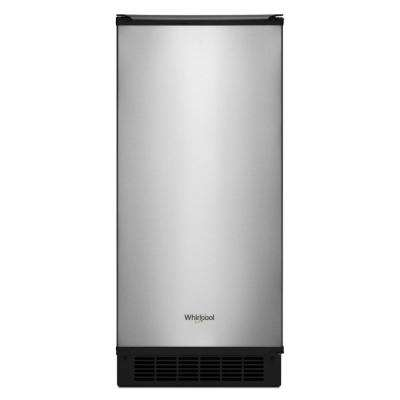 15 in. 50 lb. Built-In Ice Maker in Fingerprint Resistant Stainless Steel