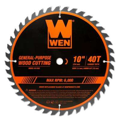 Wen Table Saw Blades Miter Saw Blades Saw Blades The Home Depot
