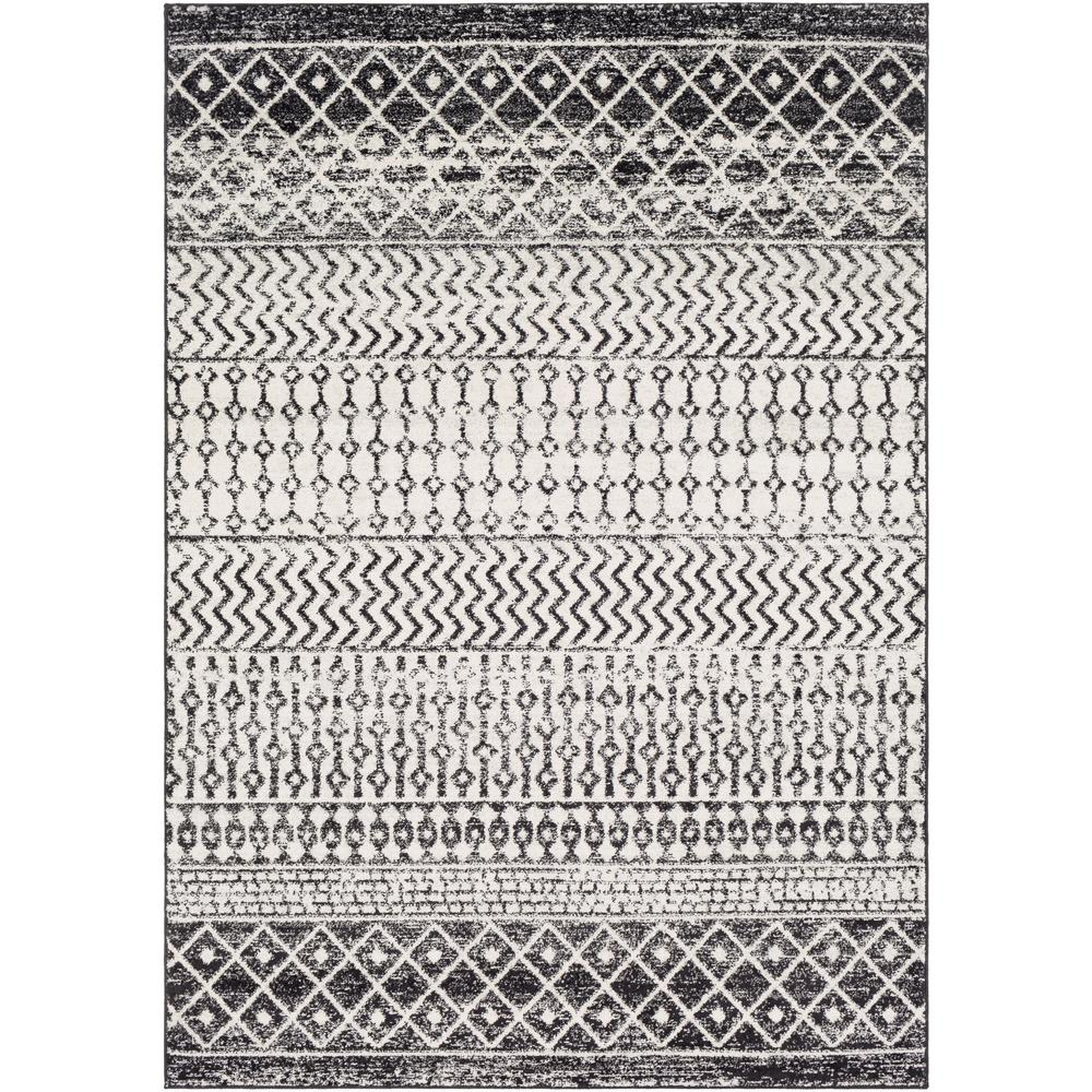 Artistic Weavers Laurine Black/White 3 ft. 11 in. x 5 ft. 7 in. Area Rug was $135.0 now $61.22 (55.0% off)