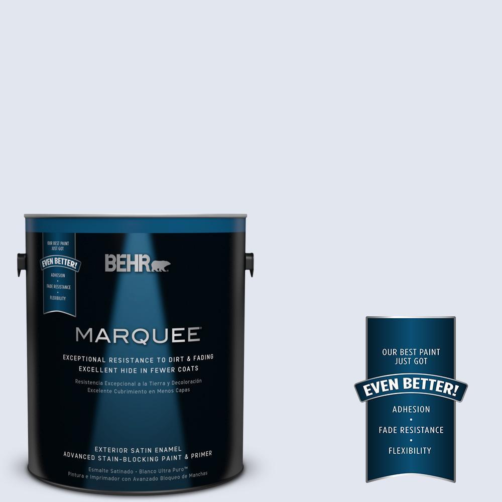 BEHR MARQUEE 1-gal. #600E-1 Genteel Lavender Satin Enamel Exterior Paint