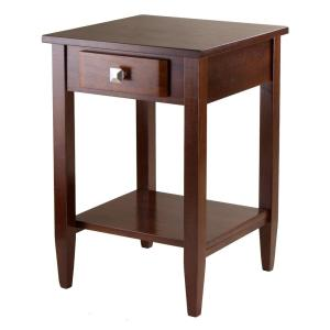 Winsome Wood Richmond Walnut End Table by Winsome Wood