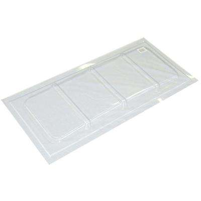 35-1/2 in. x 25 in. Polyethylene Rectangular Basement Window Cover