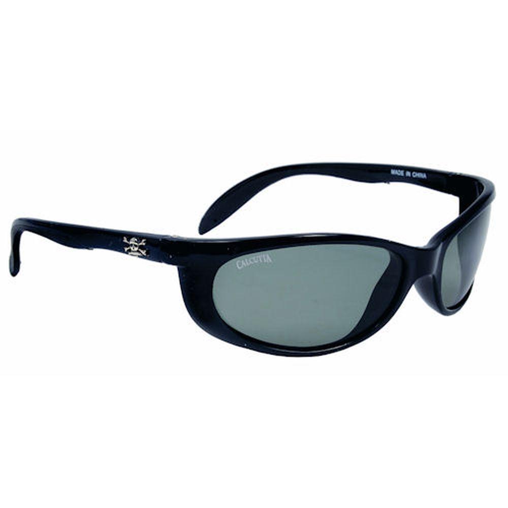 Black Frame Smoker Sunglasses with Gray Lenses