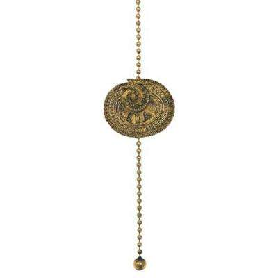 Patina Brass Artifact Ceiling Pull Chain