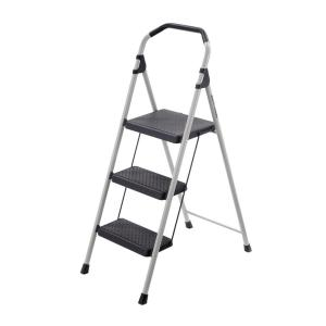 Gorilla Ladders 3-Step Lightweight Steel Step Stool Ladder with 225 lb. Load... by Gorilla Ladders