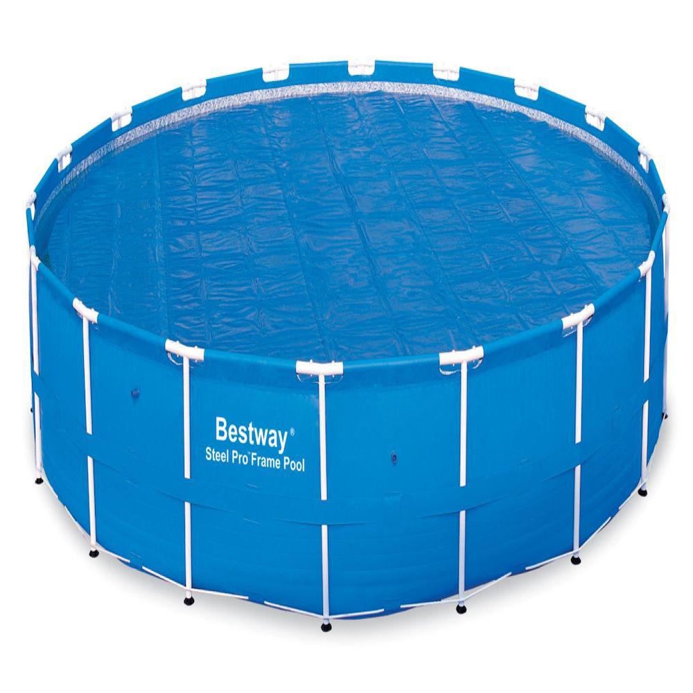 Bestway Solar Pool Cover For 16ft Round Metal Frame Pools
