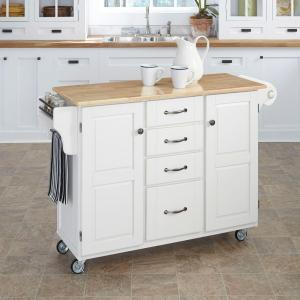white kitchen island cart home styles create a cart white kitchen cart with 1387