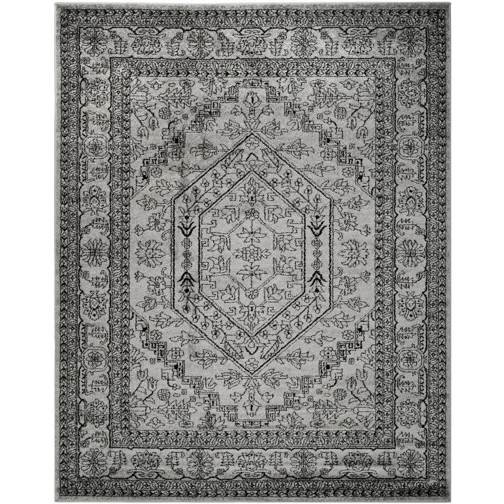 Safavieh Adirondack Silver/Black 10 ft. x 14 ft. Area Rug