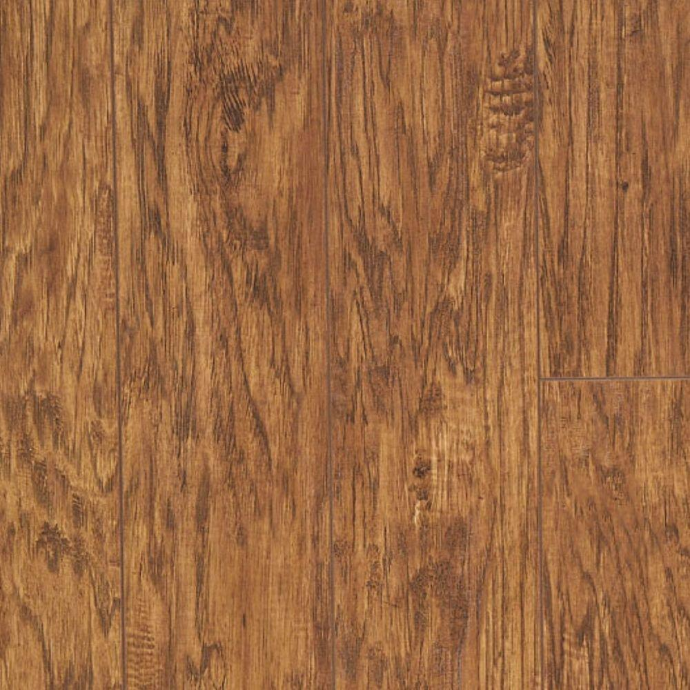 Hampton Bay Old Mill Hickory 8 mm Thick x 5.39 in. Wide x 47.6 in. Length Laminate Flooring (453.42 sq. ft. / pallet)
