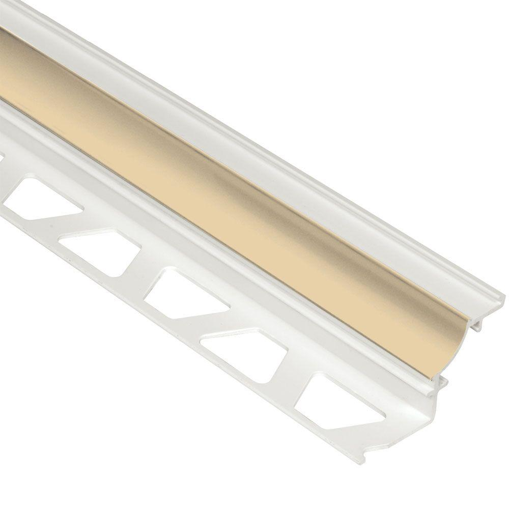 Schluter Systems Dilex-PHK Bahama 3/8 in. x 8 ft. 2-1/2 i...