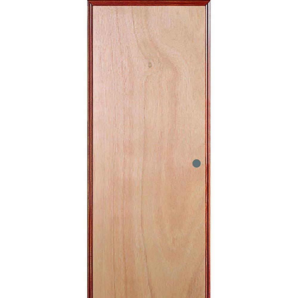 Jeld Wen 32 In X 80 In Hardwood Unfinished Flush Solid: JELD-WEN 36 In. X 80 In. Unfinished Right-Hand Flush Solid