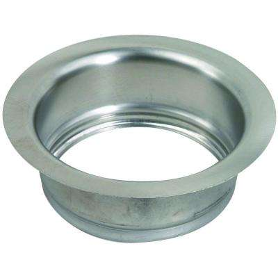 3-1/2 in. Garbage Disposal Flange in Stainless Steel