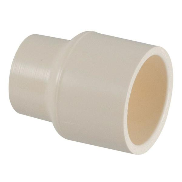 3/4 in. x 1/2 in. CPVC CTS Slip x Slip Reducer Coupling Fitting