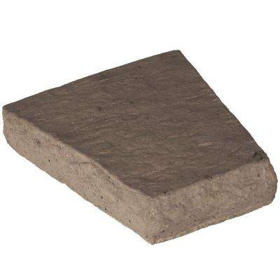Key Stone Chocolate 2.5 in. x 10 in. x 7.75 in. Manufactured Stone
