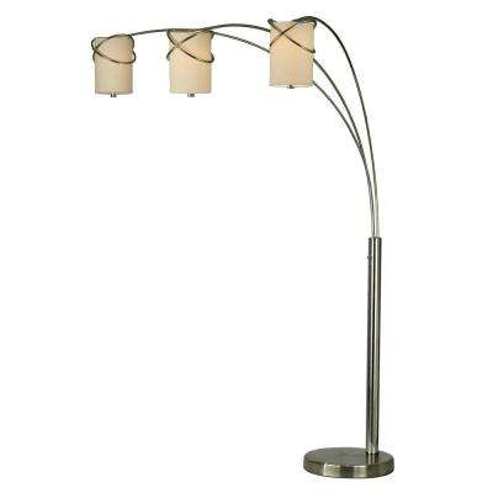 Astrulux 85 in. Chrome Arc Lamp