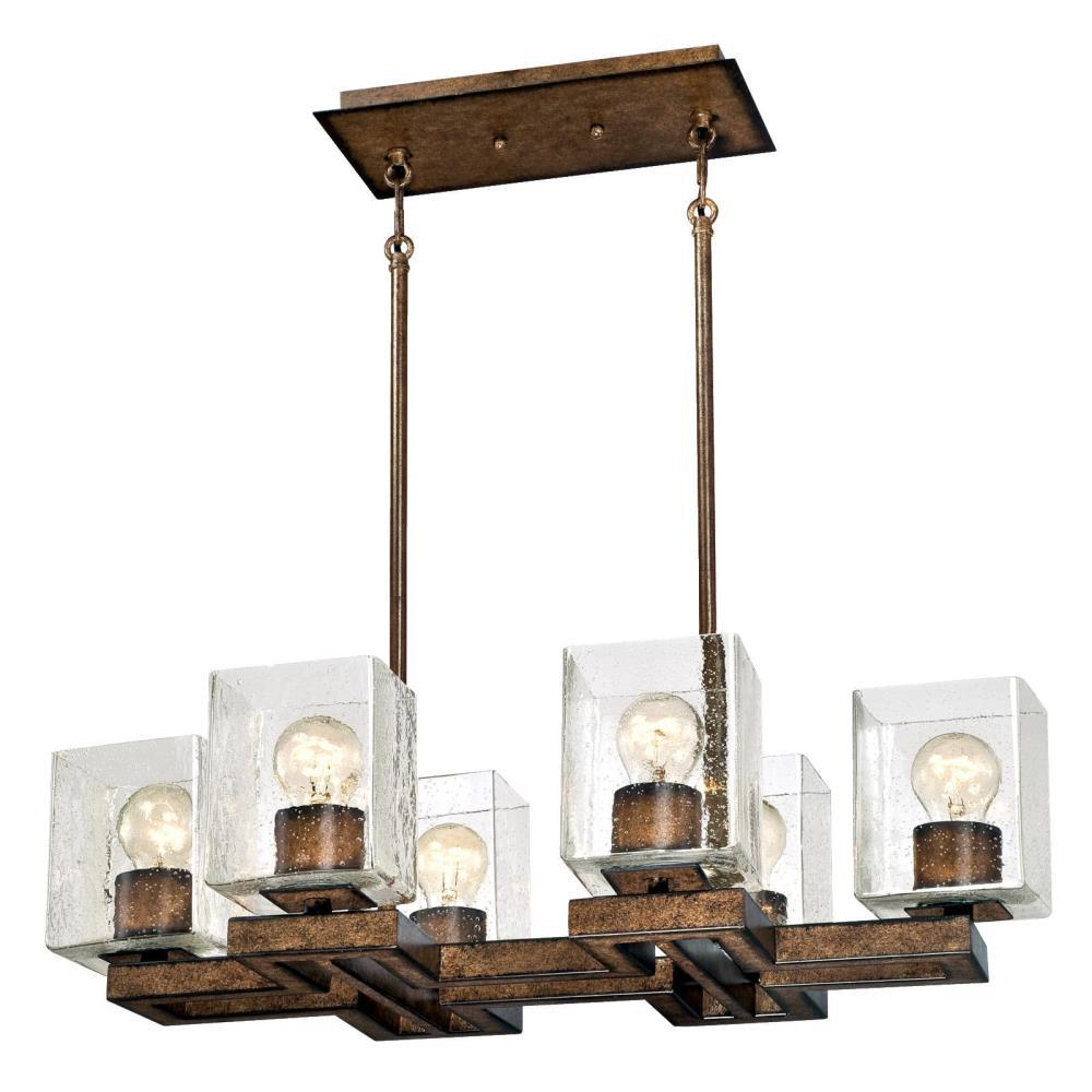 Westinghouse Manchester 6-Light Barnwood Chandelier With