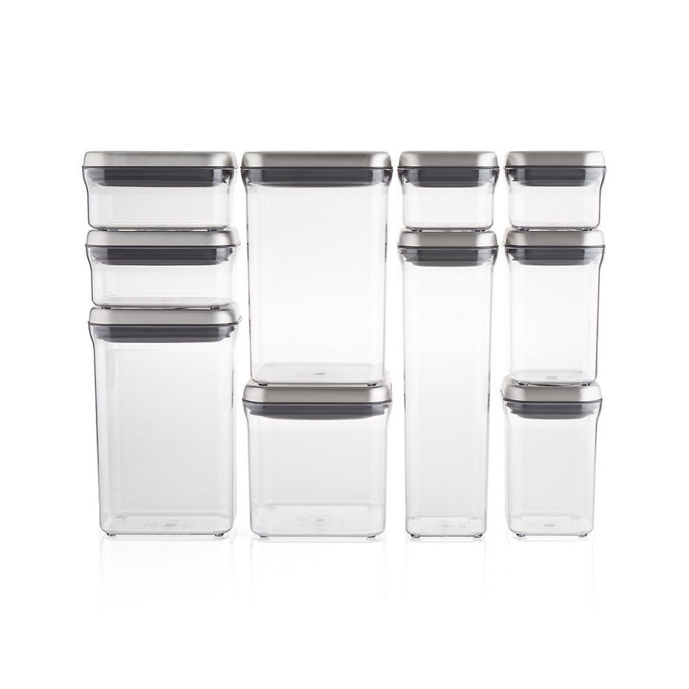 Good Grips 10-Piece Steel POP Container Set