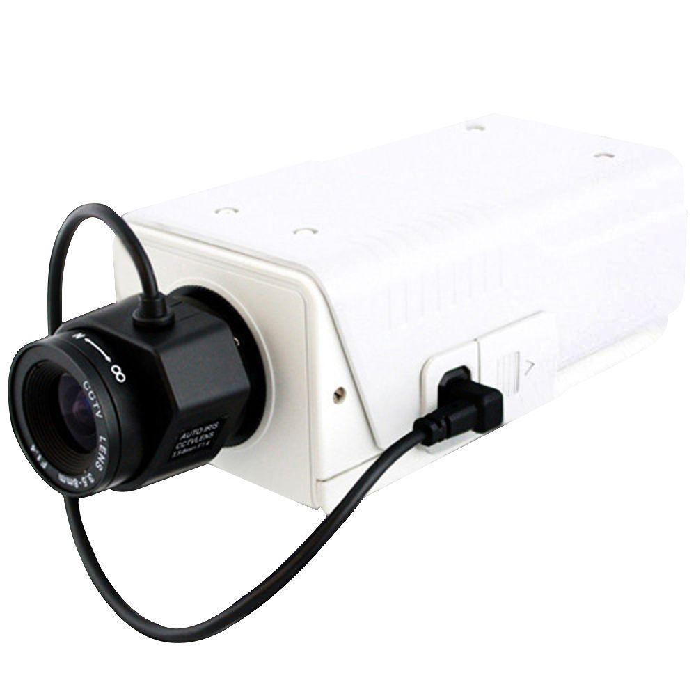 Wired 1000TVL Indoor Wide Dynamic Range Box Camera with IR Cut,
