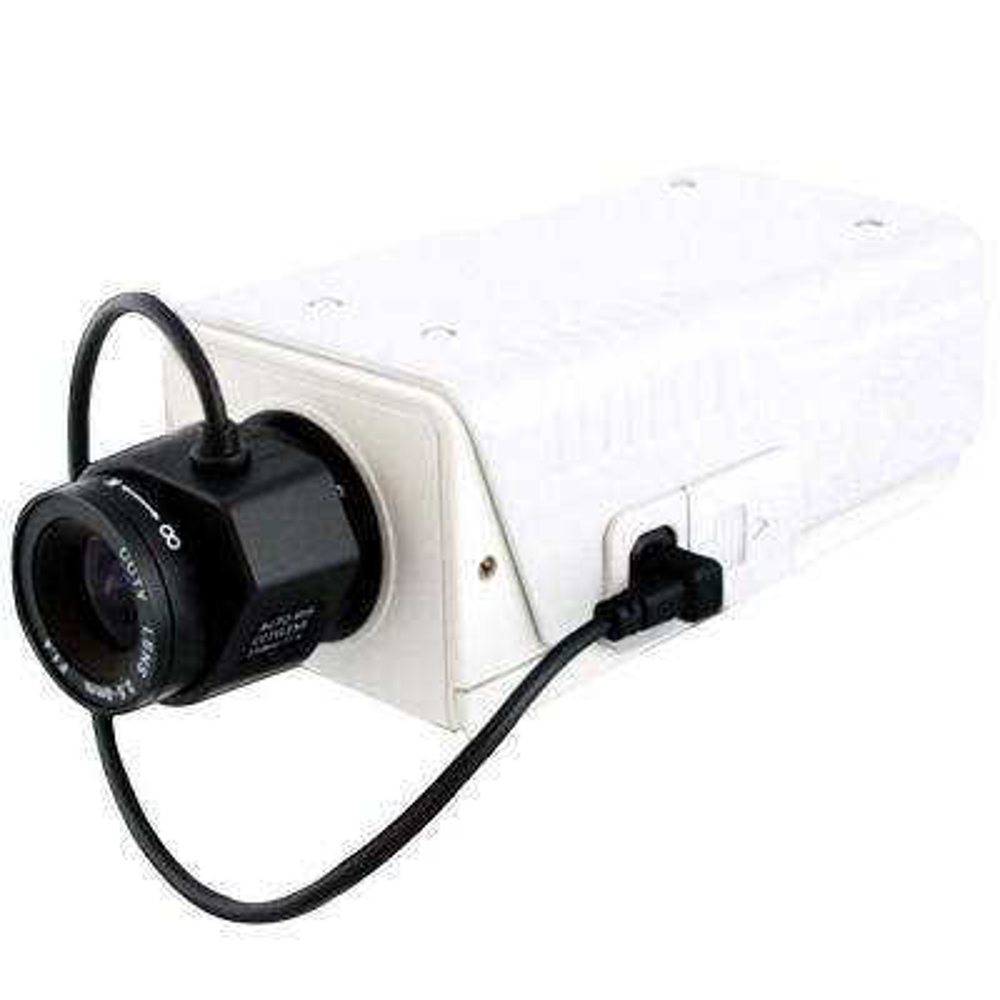 Wired 1000TVL Indoor Wide Dynamic Range Box Camera with IR Cut, OSD, DC12V/AC24V