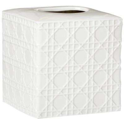 Pisa Tissue Cover in White