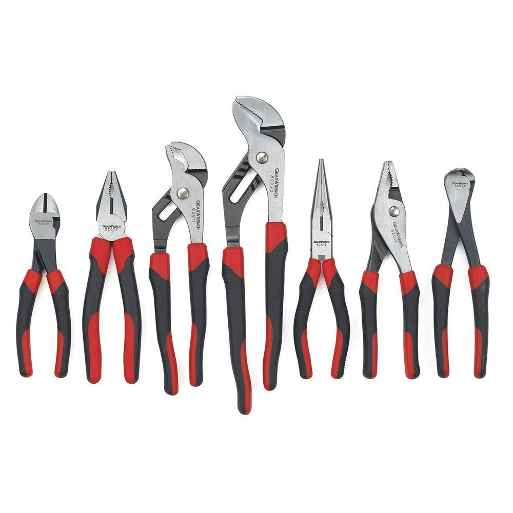 Mixed Pliers Set (7-Piece)