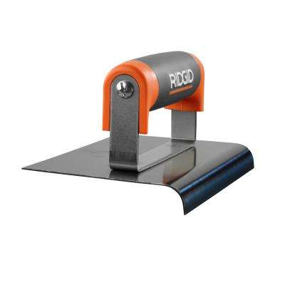 6 in. x 4 in. Blue Steel Edger